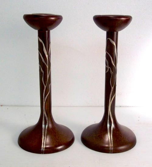 Sea Grass Candlesticks 3107
